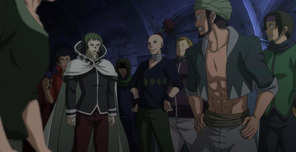 Orochi no Fin Guild members