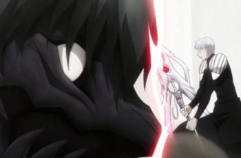 Kaneki and Arima fighting ep14