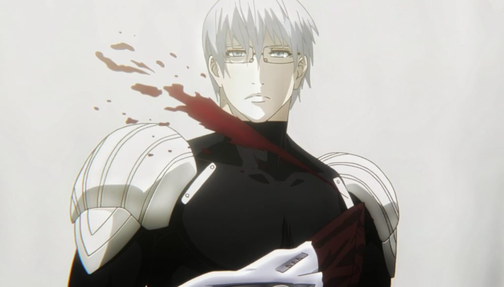 Arima cuts his throat
