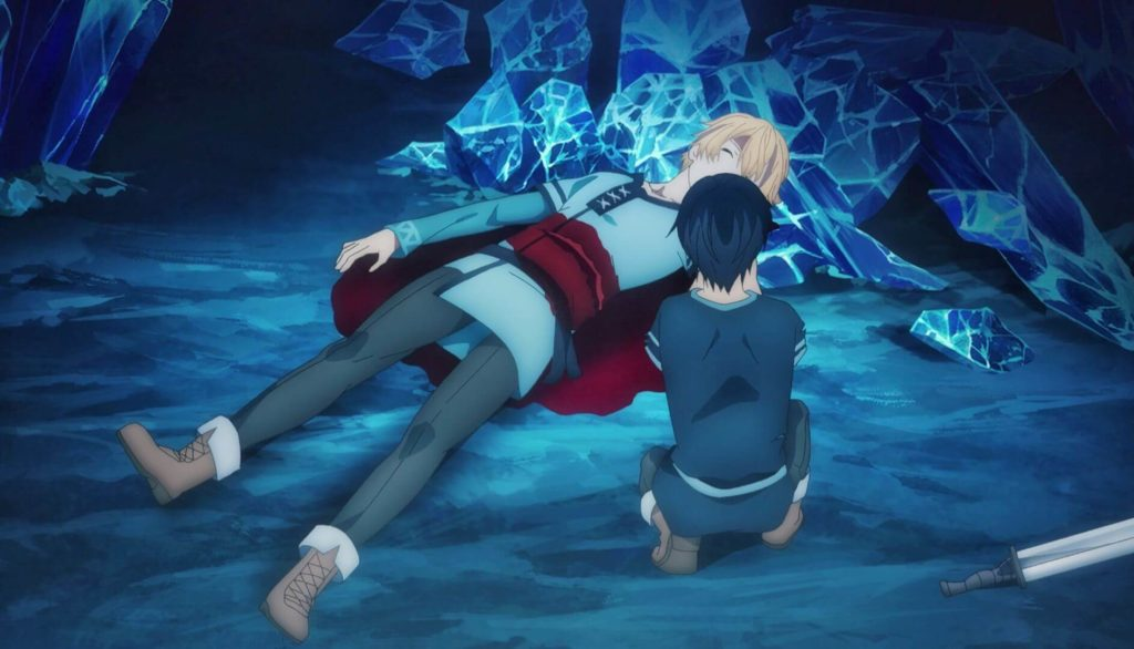Eugeo wounded