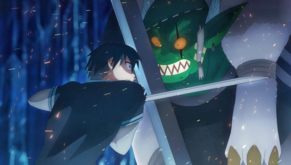 Kirito fighting with Ugachi