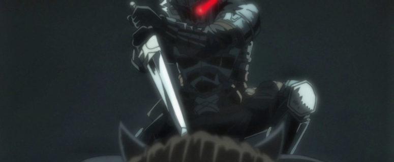 Goblin Slayer killing Ogre