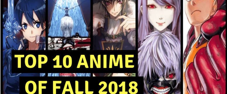 Anime list fall 2018