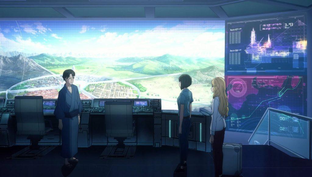 Rinko and Asuna with Kikuoka
