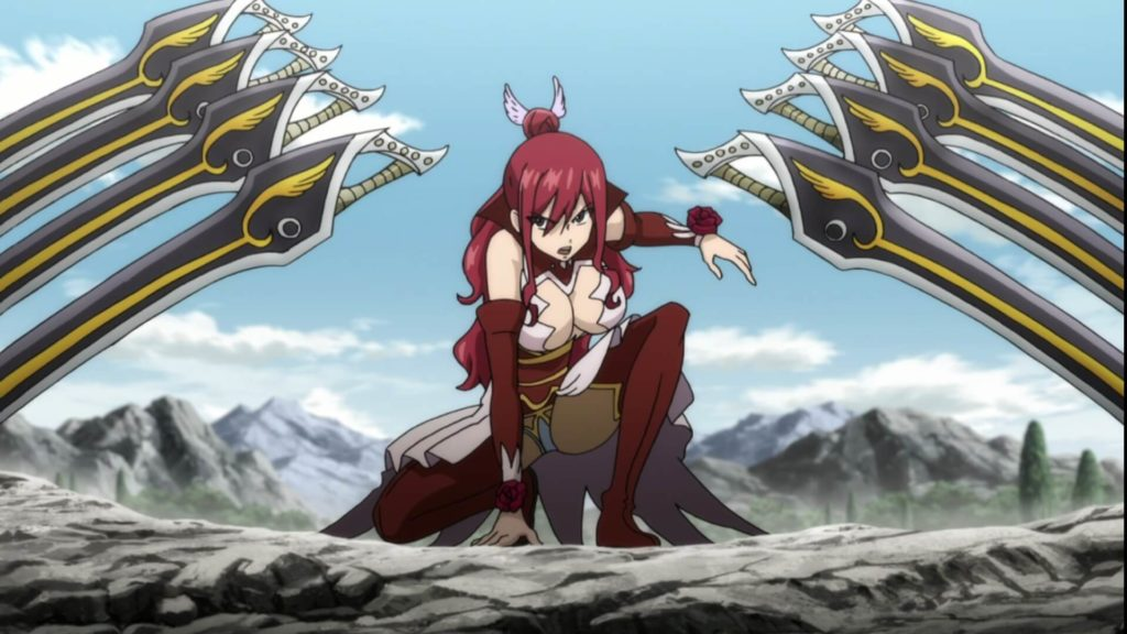 Erza in her Ataraxia Armor