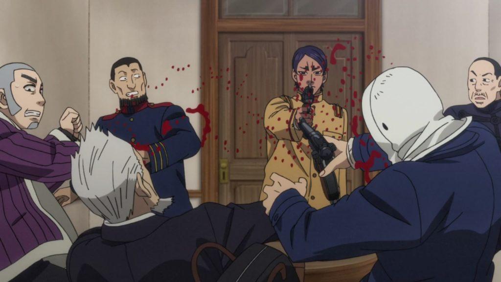 Second Lt. Koita shoots Suzukawa