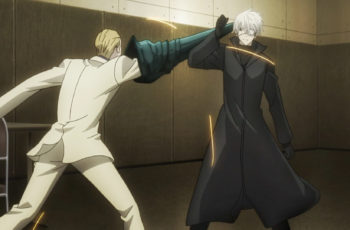 Naki fights Kaneki